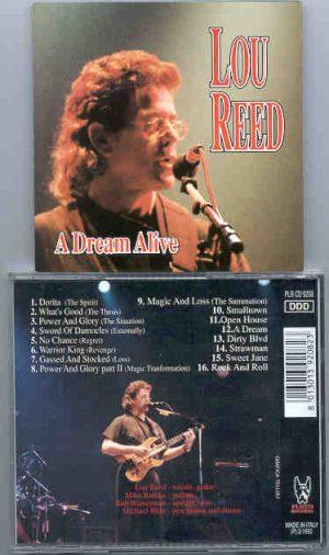 Lou Reed / Velvet Underground - A Dream Alive   ( Pluto Recs )