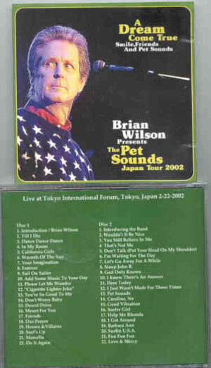 The Beach Boys - A Dream Come True ( 2 CD!!!!! set )( Brian Wilson Presents The Pet Sounds Japan Tour 2002 )
