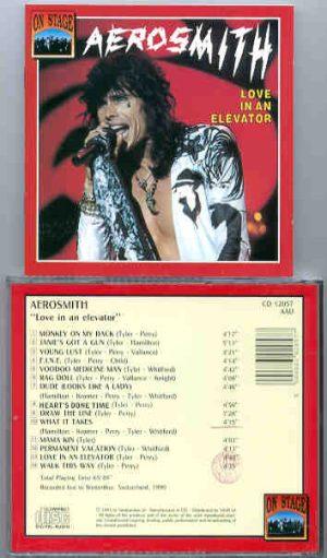 Aerosmith - Aerosmith Love In An Elevator ( On Stage Recs. ) ( Winterthur , Switzerland , 1990 )