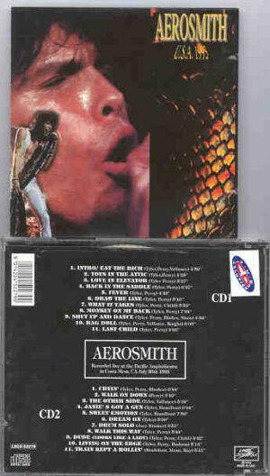 Aerosmith - Aerosmith LIVE USA 1993 ( Live Storm )( 2 CD!!!!! SET ) ( Costa Mesa , California , July 30th , 1993 )