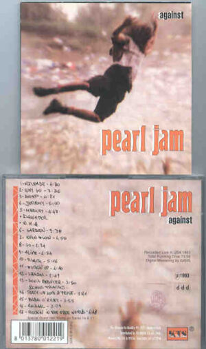 Pearl Jam - Against ( Live In USA , 1993 ) ( KTS )