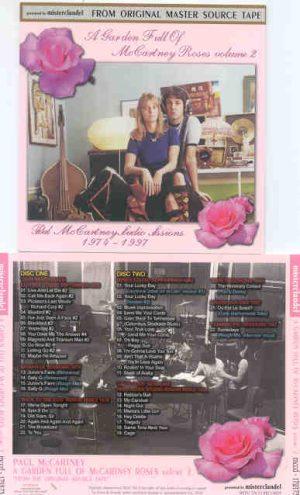 Paul McCartney - A Garden Full Of McCartney Roses Vol 2 ( 2 CD!!!!! SET )( Misterclaudel ) ( All Studio Sessions )