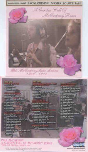 Paul McCartney - A Garden Full Of McCartney Roses ( 2 CD!!!!! SET )( Misterclaudel ) ( All Studio Sessions )