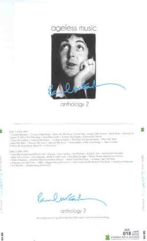 Paul McCartney - Ageless Music , Anthology Vol. 2 ( 2010 Strange Apple ) ( 2 CD!!!!! SET )