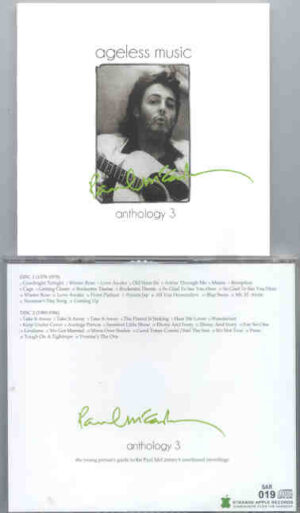 Paul McCartney - Ageless Music , Anthology Vol. 3 ( 2010 Strange Apple ) ( 2 CD!!!!! SET )