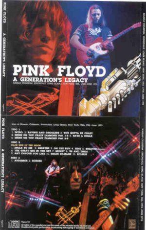 Pink Floyd - A Generation's Legacy ( 3 cd set )( SIGMA )( Nassau Coliseum , Long Island , New York , June 17th '75 )