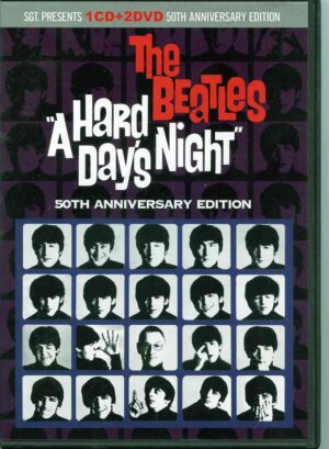 The Beatles - A Hard Day's Night 50th Anniversary ( 1 CD - 2 DVD Set ) ( 2014 SGT Records )