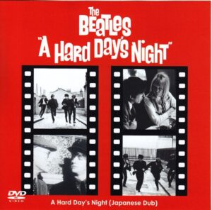 DVD The Beatles - A Hard Day's Night ( 2013 Original Japanese Dub )