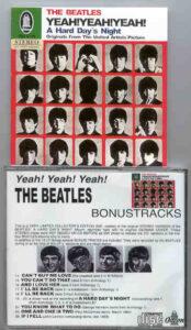 The Beatles - A Hard Day's Night ( Yeah , Yeah , Yeah ) ( Odeon )