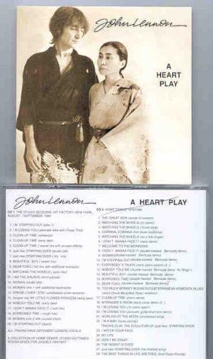 John Lennon - A Heart Play   ( 2 CD!!!!! set )
