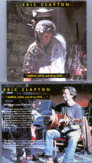 Eric Clapton - Alberta , Layla And All My Love ( Live Acoustic Concert in Windsor , UK )