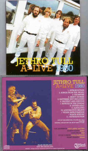 Jethro Tull - A = Live 1980 ( Highland ) ( Live at Checkerdome , St. Louis , MO , USA , October 28th , 1980 )