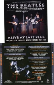 The Beatles - Alive At Last Plus ( Philadelphia 64 and Other Vintage Material ) ( 2 CD!!!!! set ) ( 2017 Rough Kut Trax )