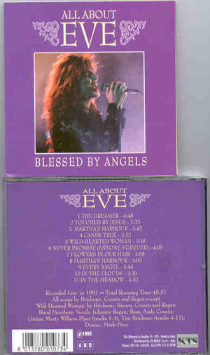 All About Eve - Blessed By Angels ( Live in 1991 ) ( KTS )