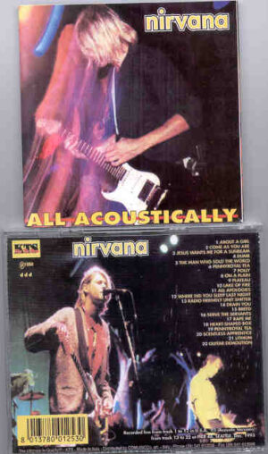 Nirvana - All Acoustically  ( Live in USA 1993 ) ( KTS )