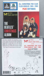 The Beatles - All Christmas Fan Club Flexi-Singles 1963 - 1969 PLUS Outtakes