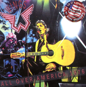 Paul McCartney - All Over America 1976 ( 10 CDs - 5 DVD SET - 24 Pages Booklet )