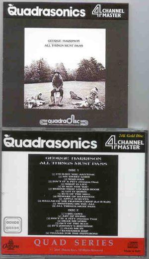 George Harrison - All Things Must Pass Quadraphonic ( 2 CD!!!!! SET ) ( Odeon Quadraphonics )