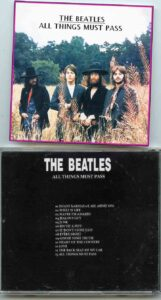 The Beatles - All Things Must Pass ( 13 Rare Takes from 1970 , digitally Remastered )