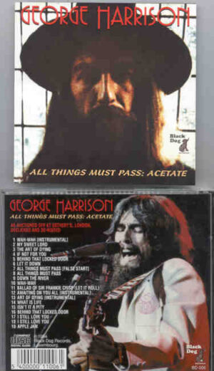 George Harrison - All Things Must Pass Acetates  ( Yellow Dog )