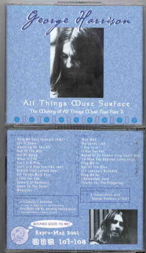 George Harrison - All Things Must Surface ( 2nd Part of The Making of ATMP ) ( Repro-Man ) ( 2 CD!!!!! set )