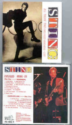 Sting / The Police - All These Time ( Unplugged / The Rehearsals ) ( 2 CD!!!!! Set )