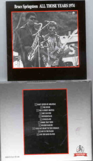 Bruce Springsteen - All Those Years Vol. 2 ( Templar - Great Dane )