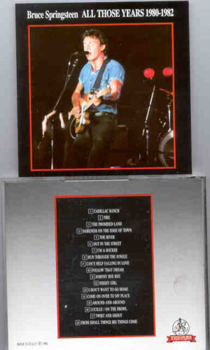 Bruce Springsteen - All Those Years Vol. 5 ( Templar - Great Dane )