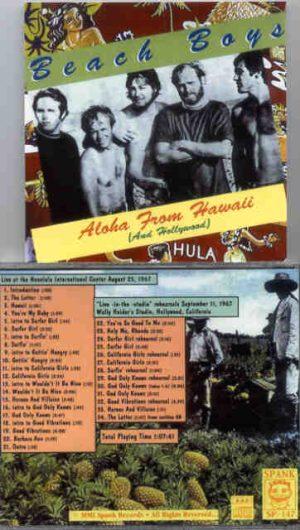 The Beach Boys - Aloha From Hawaii ( And Hollywood ) ( Spank )