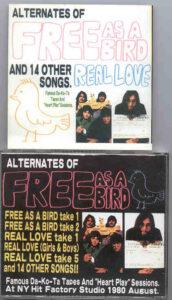 The Beatles - Alternate Free As A Bird