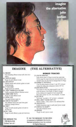 John Lennon - Alternate Imagine  ( Swingin' Pig )