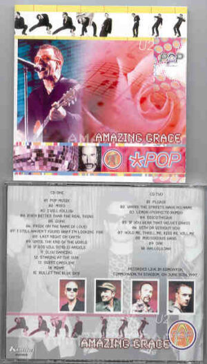 U2 - Amazing Grace ( 2 CD!!!!! set ) ( Commonwealth Stadium , June 15th , 1997 )