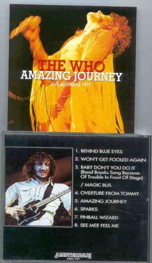The Who - Amazing Journey ( Live In Dallas 1971 )