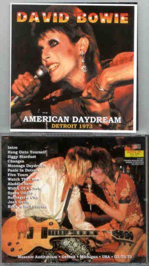 David Bowie - American Daydream ( Masonic Auditorium , Detroit , Michigan , USA , 01 / 03 / 1973 )