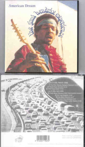 Jimi Hendrix - American Dream  ( WPOCM ) ( Live in the USA , March 1968 )