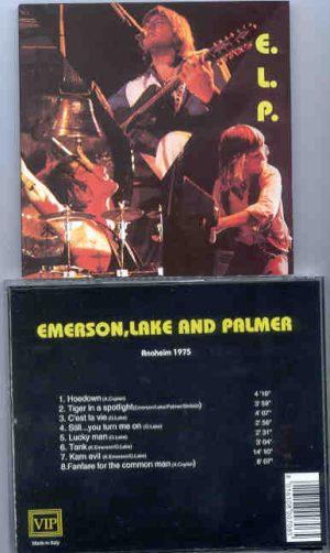 Emerson , Lake & Palmer - Anaheim 1975