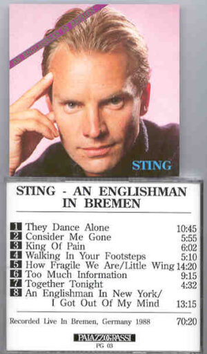Sting / The Police - An Englishman In Bremen ( Bremen , Germany , 1988 )