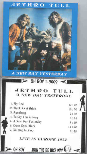 Jethro Tull - A New Day Yesterday ( Oh Boy Recs )