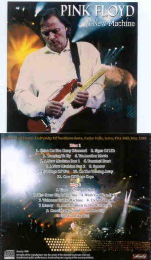 Pink Floyd - A New Machine ( 2 CD!!!!! Set ) ( Amity ) ( University Of Northern Iowa ,  USA , May 18th , 1988 )