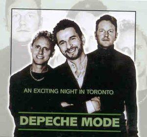 Depeche Mode - An Exciting Night In Toronto ( 2 CD!!!!! set )( Molson Amphitheatre , Toronto , Ontario , Canada , June 16th , 2001 )