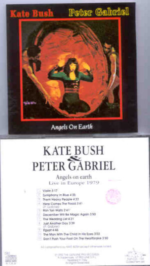 Kate Bush - Angels On Earth   ( Swingin' Pig )( P. Gabriel & Kate Bush ) ( Europe 1979 )