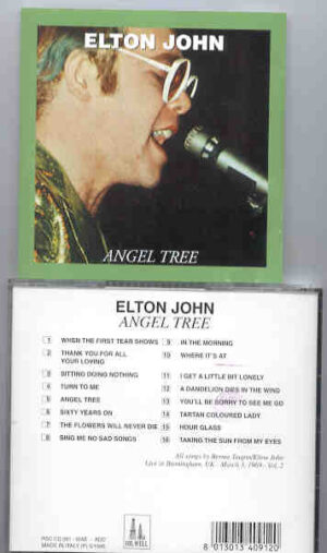 Elton John - Angel Tree ( Oil Well ) ( Birmingham , UK , March 3rd , 1969 , Part 1 )