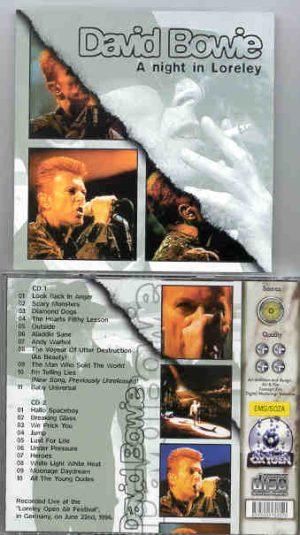 David Bowie - A Night In Loreley ( 2 CD!!!!! set )