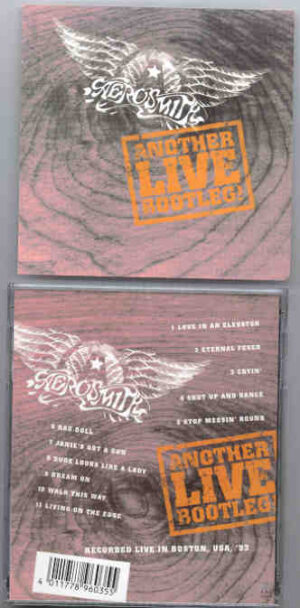 Aerosmith - Another Live Bootleg ( Live In Boston , USA , 1993 )