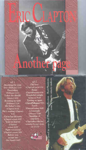 Eric Clapton - Another Page ( 2 CD!!!!! set )( Red Phantom )