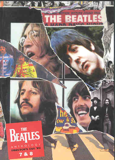 DVD The Beatles - 1993 Anthology Director's Cut Vol 7/8