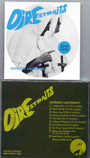 Dire Straits - Anybody Listening ( Live 1992 )