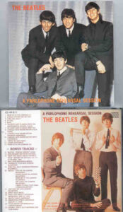 The Beatles - A Parlophone Rehearsal Session ( ADAM V111 )