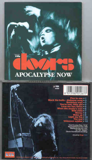 The Doors - Apocalypse Now ( Live During the 1968 Waiting For The Sun Tour ) ( KTS )