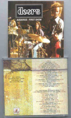 The Doors - Aquarius - First Show  ( 2 CD!!!!! set )